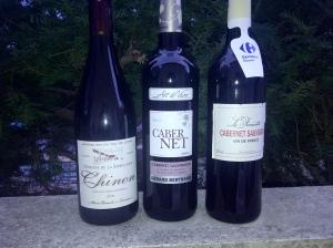 3 vins à base de Cabernet